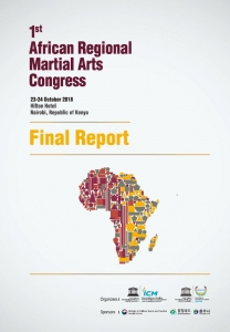 1st African Regional Martial Arts Congress Final Report Cover